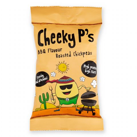 Cheeky P's Barbeque Flavoured Roasted Chickpeas 50g